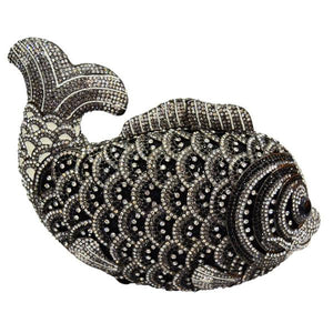Evening Diamond Bag With HK Crystal In Animal Shape - GiftWorldStyle - Luxury Jewelry and Accessories