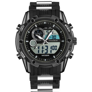 Men's Analog Digital Military LED Waterproof Wrist Watch - GiftWorldStyle - Luxury Jewelry and Accessories