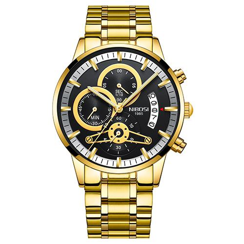 Men's Chronograph Quartz Watch - Waterproof, Date, Luminous - GiftWorldStyle - Luxury Jewelry and Accessories