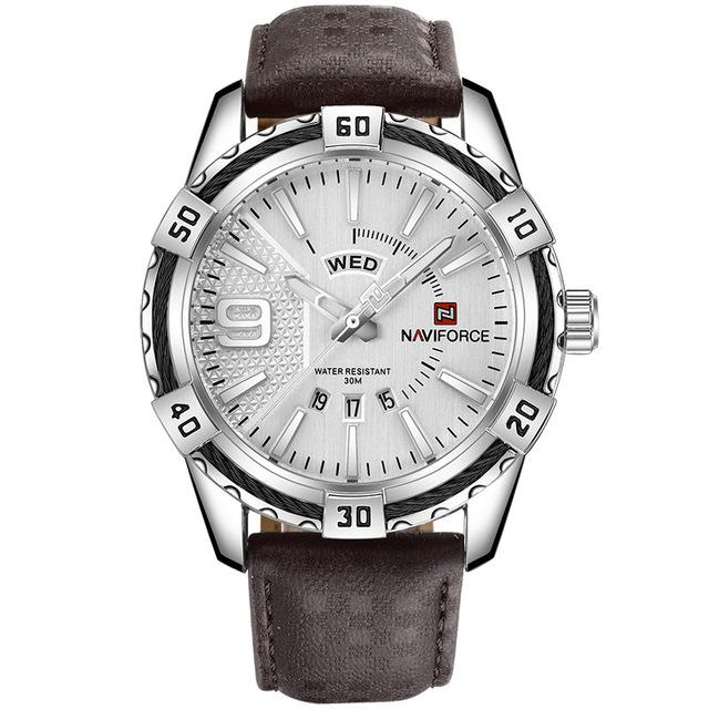 Men's Military Waterproof Sports Watch With Date - Complete Calendar - GiftWorldStyle - Luxury Jewelry and Accessories