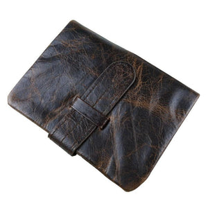 Men Wallets Cow Genuine Leather Men Purse Vintage Male Original - GiftWorldStyle - Luxury Jewelry and Accessories