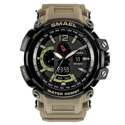 Military Watch Waterproof 50M S Shock Sport Watches Digital Clock Men Military Army
