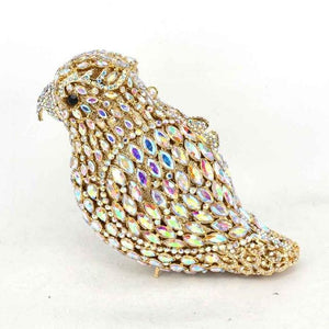 Parrot Animal Crystal Evening Bag - GiftWorldStyle - Luxury Jewelry and Accessories