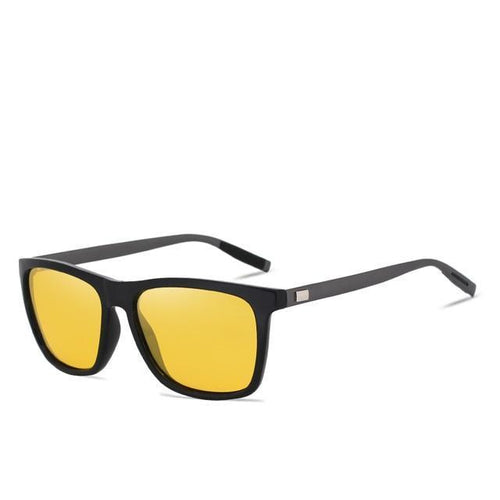 Polarized Night vision Sunglasses Yellow Lens Vintage Square Female  Sun Glasses - GiftWorldStyle - Luxury Jewelry and Accessories