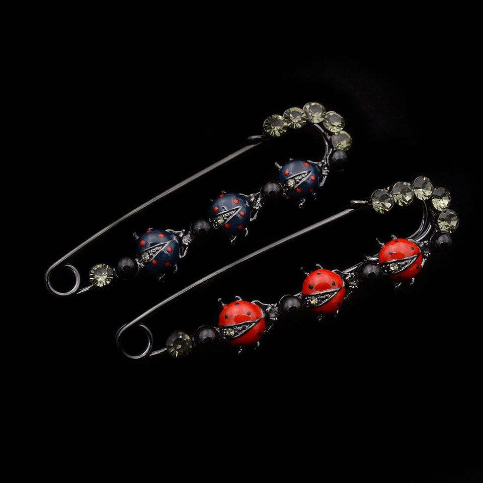 Cute Ladybug Pin Brooches For Women