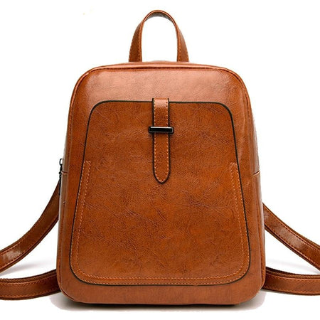 Women's Luxury Leather Backpack