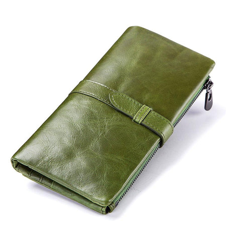 Wallet Genuine Cow Leather with Handy Card Holder