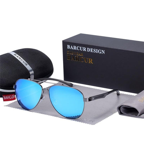 Aluminum Sunglasses With Polarized Lens For Men,Photochromic - GiftWorldStyle - Luxury Jewelry and Accessories