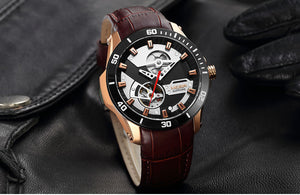 Men's Mechanical Watches With Sapphire Crystal And Mechanical Hand Wind - GiftWorldStyle - Luxury Jewelry and Accessories
