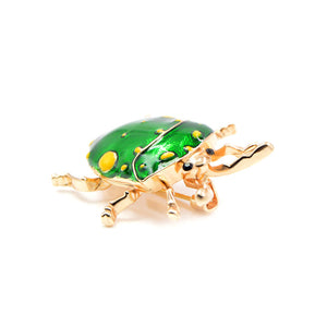 Beetle Insect Brooch Pin