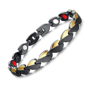 Heart Pattern Magnetic Bracelet For Women - GiftWorldStyle - Luxury Jewelry and Accessories