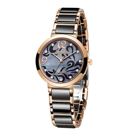Women's Luxury Stainless Steel Bracelet Watch