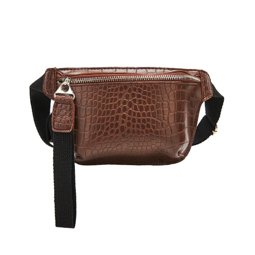 Women Chest Bag From Snakes Pu Leather And Strap Belt - GiftWorldStyle - Luxury Jewelry and Accessories