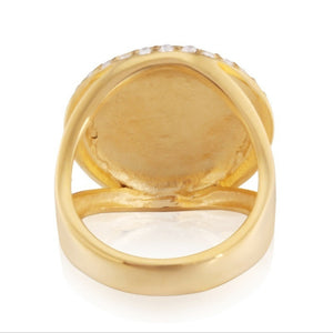 Man Retro Men's Masonic Ring Gold Punk Ring 316L Stainless Steel Jewelry Wedding Band Men's