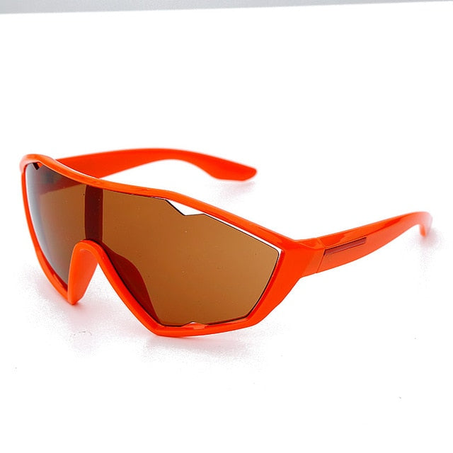 Driving Cat Eye Style UV400 Sunglasses - Mirror