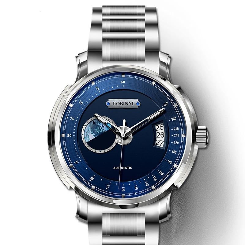 Mechanical Movement Watch - Sapphire Crystal, Stainless Steel
