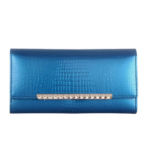 Shiny Long Women Luxury Wallet With Clutch Designer,Slot Pocket