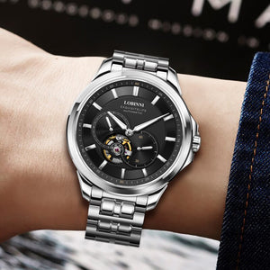 Wristwatches Automatic Men Watch- Sapphire Crystal, Stainless Steel - GiftWorldStyle - Luxury Jewelry and Accessories