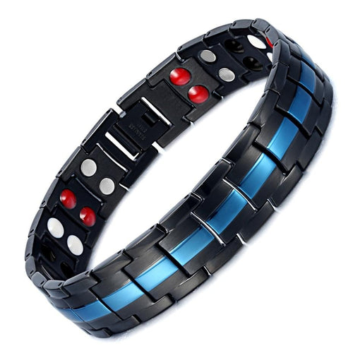 Magnetic Bio Energy Bracelet For Arthritis With Stainless Steel