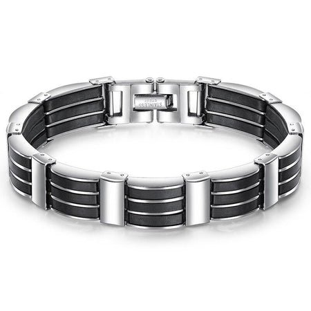 Stainless Steel Link Chain Bracelets - GiftWorldStyle - Luxury Jewelry and Accessories