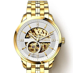 Japan Movement Watch Men Automatic Mechanical Watch Watch Transparent Skeleton Watch Seagull