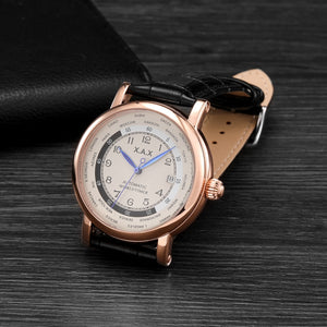 Automatic Waterproof Watches With Self-wind With Auto Date, Stop Watch - GiftWorldStyle - Luxury Jewelry and Accessories