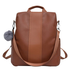 Women's Anti-Theft Backpack - Zipper Pocket