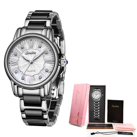 Women's Stainless Steel Two-Tone Quartz  Watch