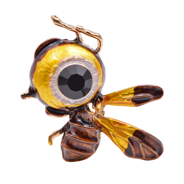 Cute Little Honey Bee Cartoon Insect Brooches For Women