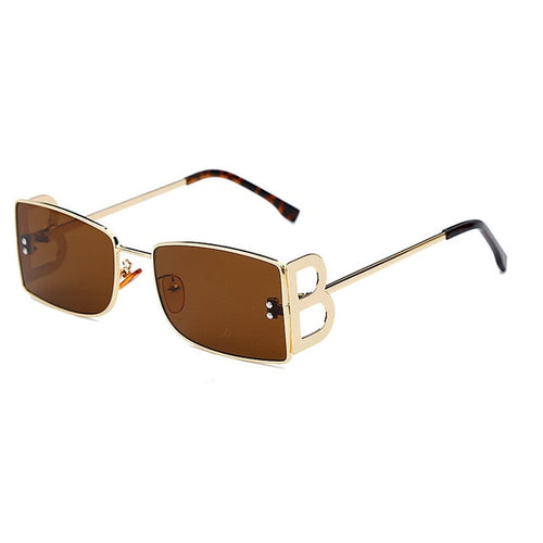 Square Sunglasses Women Vintage Sun Glasses Frame UV400  Eyeglass Frames Men Eyewear
