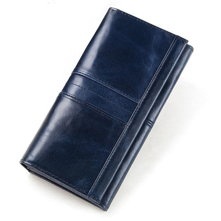 Female Leather Wallet with Card Holder Handy