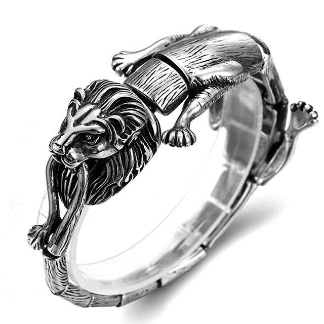 Poison Scorpion Punk Bracelet - Stainless Steel