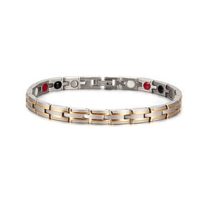 Energy Magnetic Bracelets With Germanium Stainless Steel For Men - GiftWorldStyle - Luxury Jewelry and Accessories