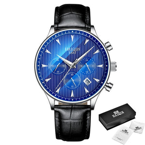Men's Watches Sport Men Watches Men Watch Gold Quartz Watch Male Military Leather
