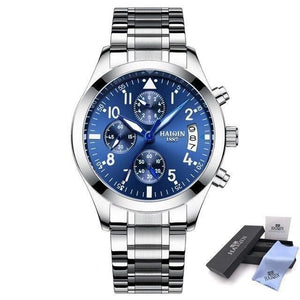 Men Watches Watch Men Business Quartz Wrist Watch Men Chronograph Waterproof