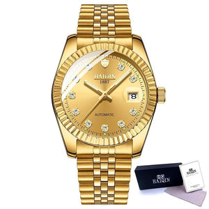 Men Watch Automatic Mechanical Watches Watch Men Gold Business Wristwatch Sports