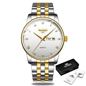 Gold Men's Watches Men Watches Sport Military Quartz Wrist Watch Men