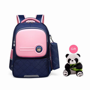 Orthopedic Children School Bag With Pencil Case,Waterproof - GiftWorldStyle - Luxury Jewelry and Accessories