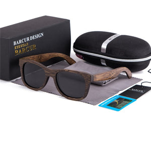 Retro Wood Sunglasses For Men With UV400 Protection - GiftWorldStyle - Luxury Jewelry and Accessories