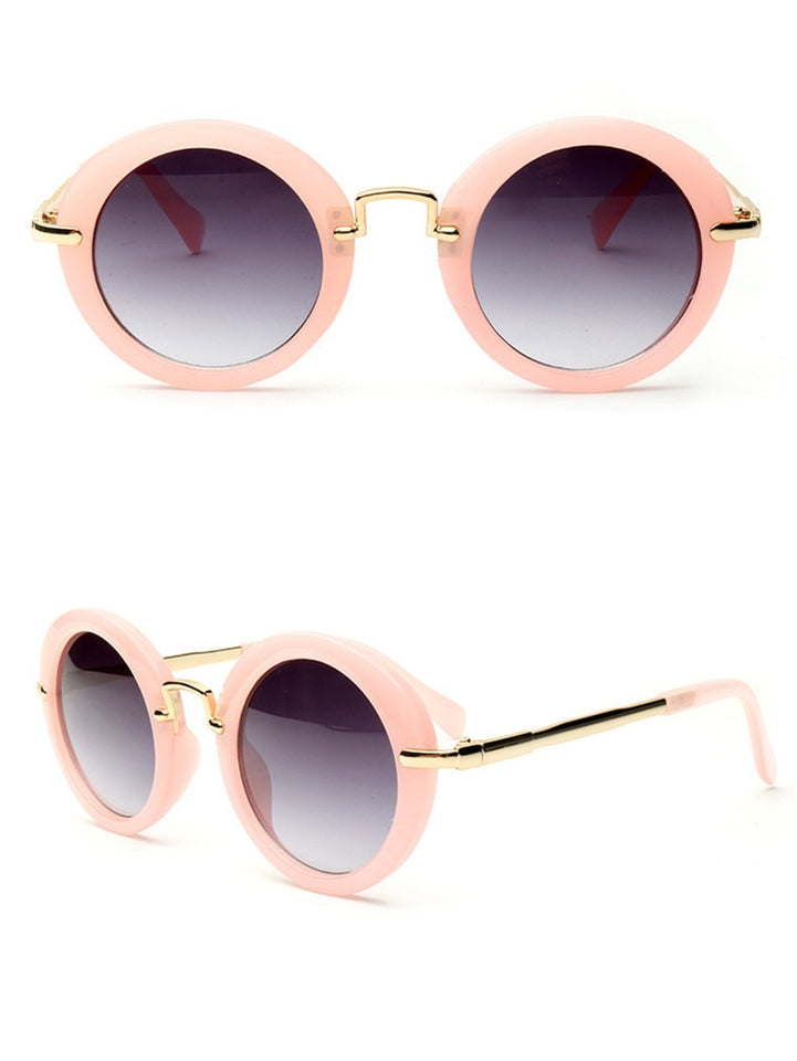 Round Sunglasses With Anti-uv Protection And  Anti-Reflective - GiftWorldStyle - Luxury Jewelry and Accessories