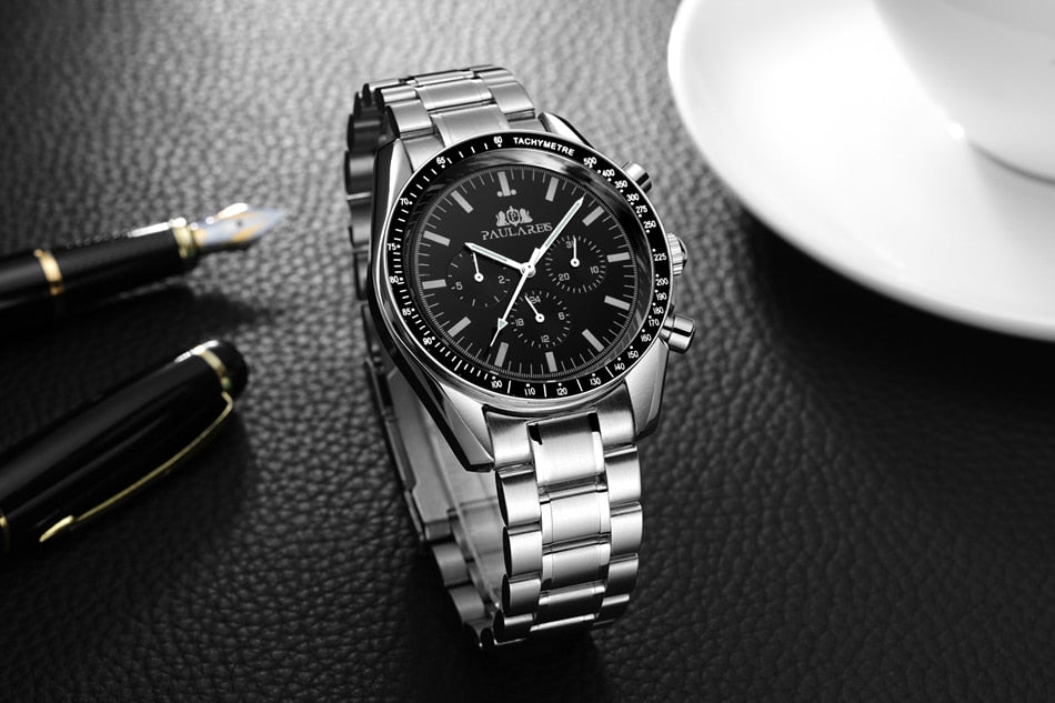 Self Wind Mechanical Luminous Watch With Folding Clasp with Safety - GiftWorldStyle - Luxury Jewelry and Accessories