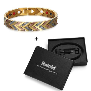 Bio Energy Germanium Magnetic Bracelet - GiftWorldStyle - Luxury Jewelry and Accessories