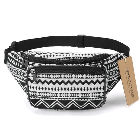 Fabric Waist Bag With Bohemian Style Tribal Phone Belt - GiftWorldStyle - Luxury Jewelry and Accessories
