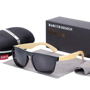 Polarized Bamboo Sunglasses For Men With Anti-Reflective Protection - GiftWorldStyle - Luxury Jewelry and Accessories