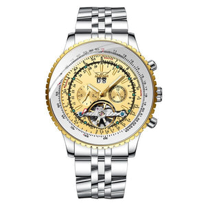 Mechanical Wristwatch With Design Design - Automatic Self-Wind - GiftWorldStyle - Luxury Jewelry and Accessories