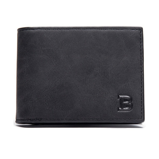 Men's Classic PU Leather Bifold Wallet - GiftWorldStyle - Luxury Jewelry and Accessories