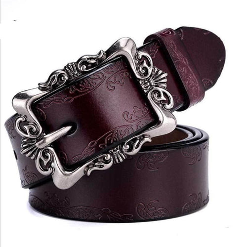 Punk Designer Belts With Genuine Cowskin Leather - GiftWorldStyle - Luxury Jewelry and Accessories