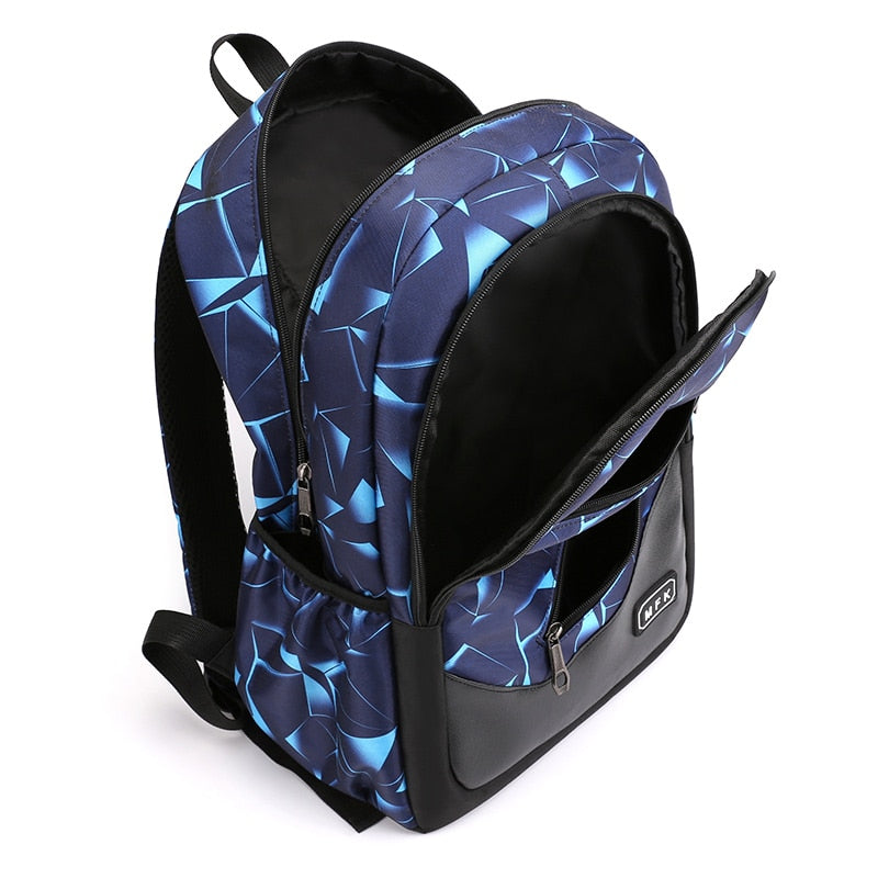 School Backpack With USB Charge Port, Interior Slot Pocket - GiftWorldStyle - Luxury Jewelry and Accessories