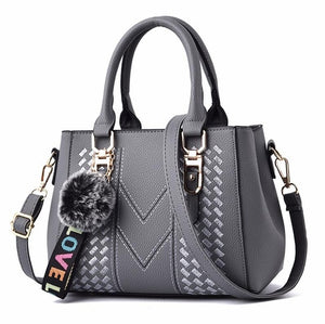 Women's Embroidery Leather Handbag