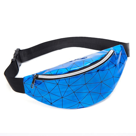 Waterproof Hologram Waist Bag With Big Pocket - GiftWorldStyle - Luxury Jewelry and Accessories
